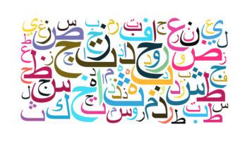 Letras del Alifato o Alfabeto de Idioma Árabe